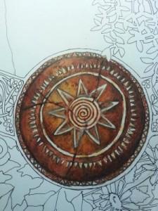 solar medallion