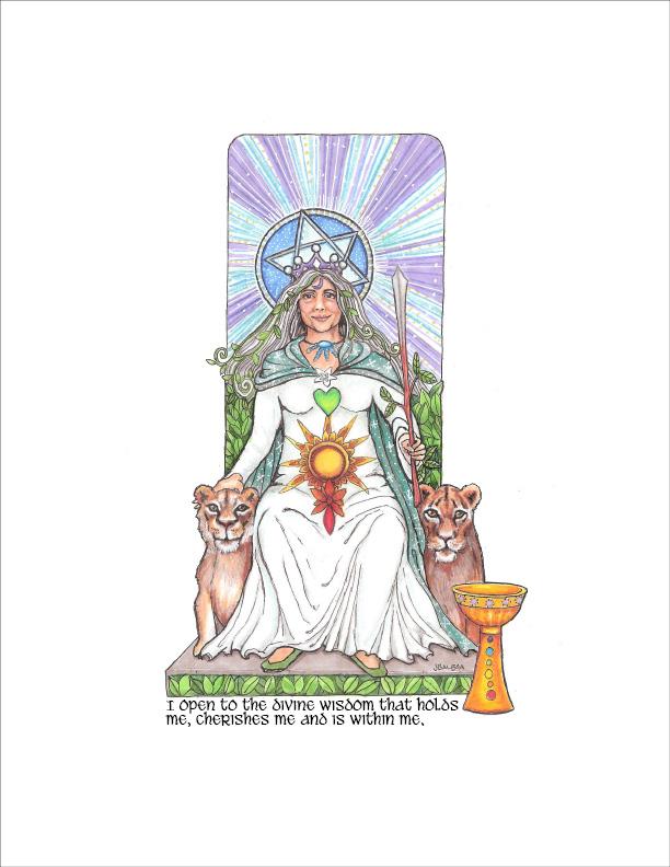 The Feminine Divine