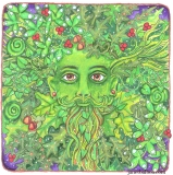 Celtic Green Man
