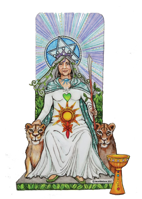 Mother Divine Image